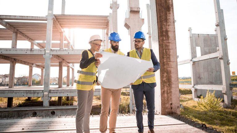 Construction website development