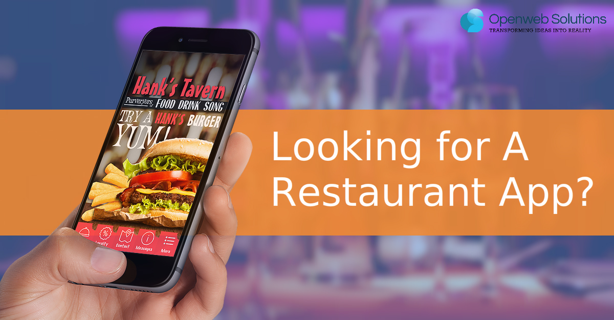 Top features that your restaurant app must have