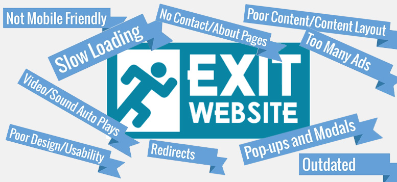 Mistakes to avoid while creating a website
