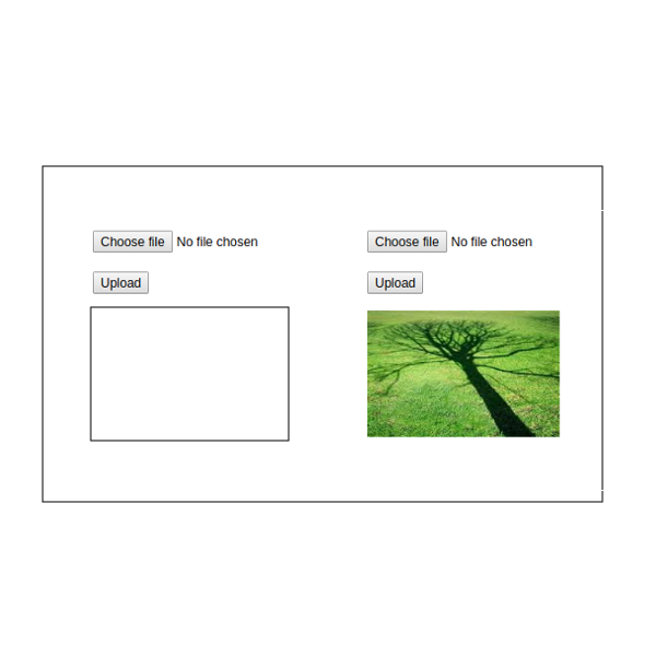 Upload and Display Image using JavaScript and PHP