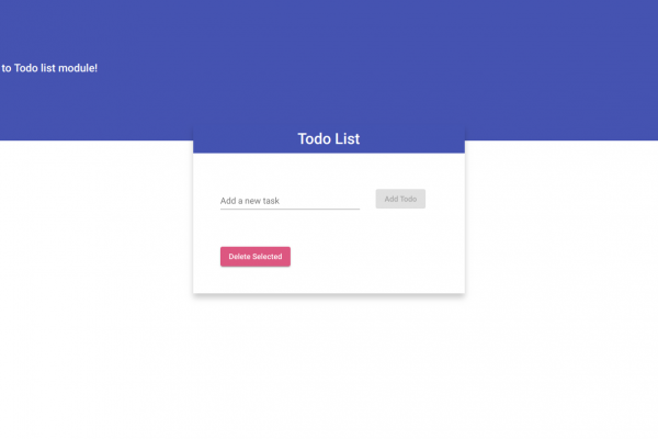 How to Create Todo List in Angular 7?