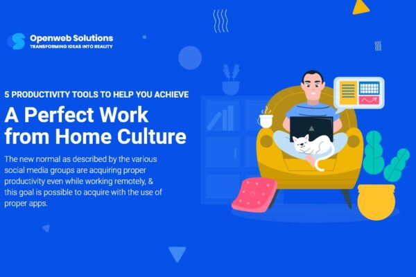 5 Productivity Tools to Help You Achieve a Perfect Work from Home Culture