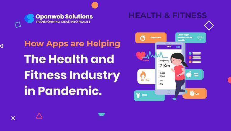 mobile app development for health & fitness industry